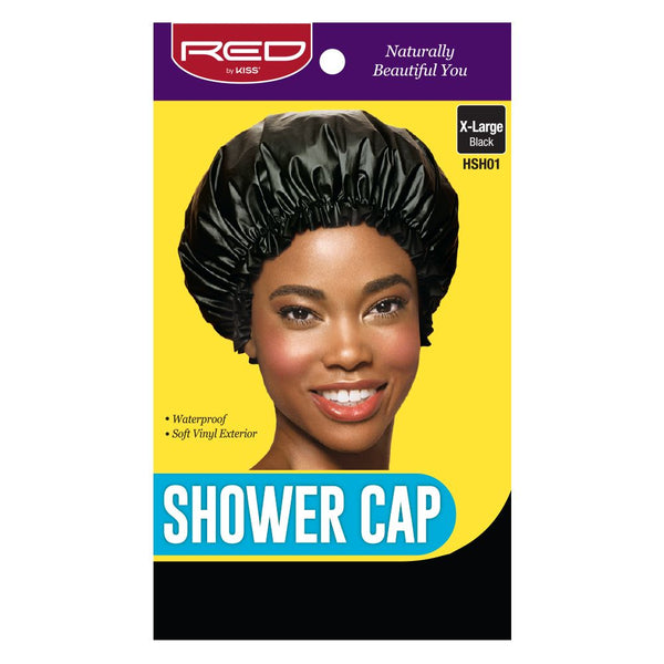 Red By Kiss Shower Cap - HSH01 Extra Large Black