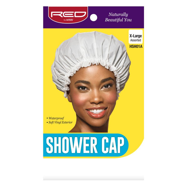 Red By Kiss Shower Cap - HSH01A Extra Large Assorted