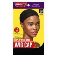 Red By Kiss Super Wide Band Wig Cap - HWC05 Black