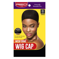 Red By Kiss Mesh Dome Wig Cap - HWC06 Black