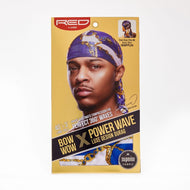 Red By Kiss Bow Wow Power Wave Luxe Design Durag - HDUPPL04 Navy Blue