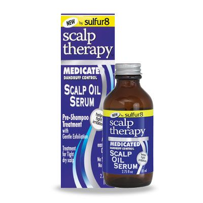 Sulfur 8 Scalp Therapy Medicated Dandruff Control Scalp Oil Serum - 2.75oz