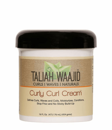 Taliah Waajid Curly Curl Cream (16 oz) - Beauty Empire