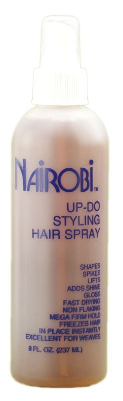 Nairobi Up-Do Styling Hair Spray (8 oz) - Beauty Empire