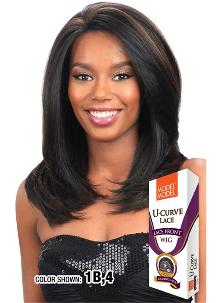 Model Model U-Curve Lace Front Wig - Storm - Beauty Empire