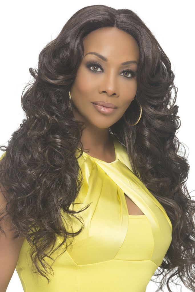 "Vivica A. Fox Natural ""Baby Hair"" Swiss Lace Front Wig - Sunflower - Beauty Empire"