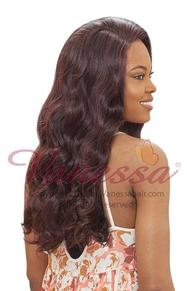 Vanessa Honey 4 Brazilian Human Hair Blend Lace Front Wig - T4HB Delty - Beauty Empire