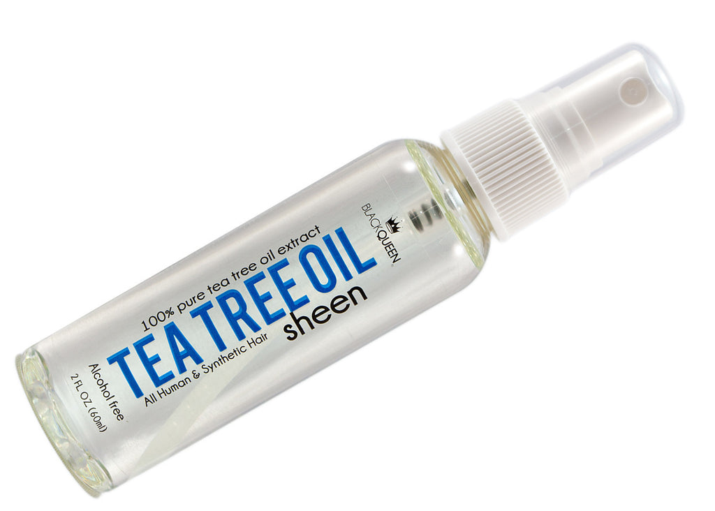 Black Queen 100% Tea Tree Oil Sheen (2 Oz) - Beauty Empire