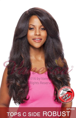 Vanessa Express Lace Front Wig - Tops C Robust
