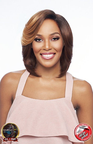Vanessa Top Super Deep Reverse J-Side Part Lace Front Wig - Tops DRJ Luna