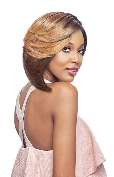 Vanessa Top Super Deep Reverse J-Side Part Lace Front Wig - Tops DRJ Luna - Beauty Empire