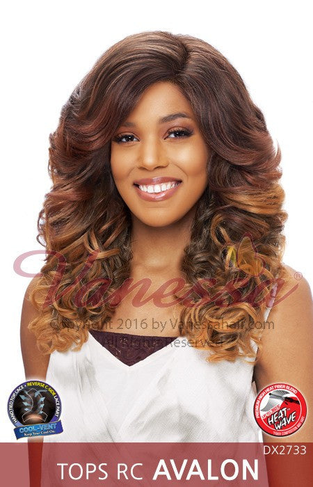 Vanessa Top Super RC-Side Lace Part Lace Wig - Avalon - Beauty Empire