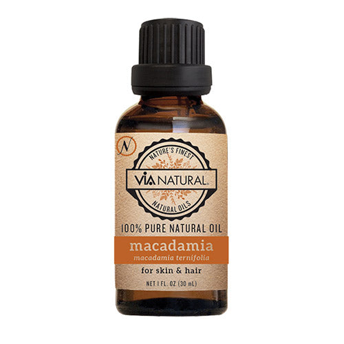 Via Natural Macadamia For Skin & Hair (1 oz) - Beauty Empire