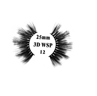 Retrotress 100% Hand Made 3D 25mm Wispy Lashes - 12