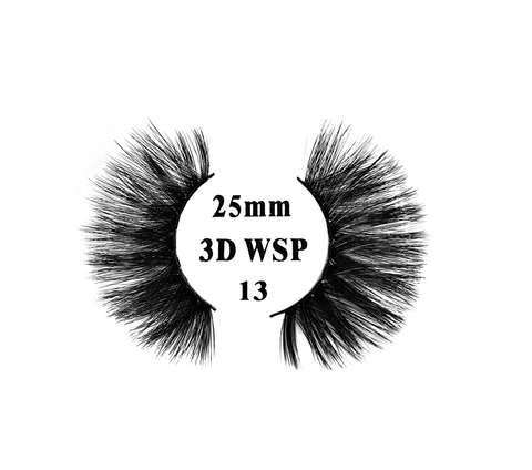 Retrotress 100% Hand Made 3D 25mm Wispy Lashes - 13