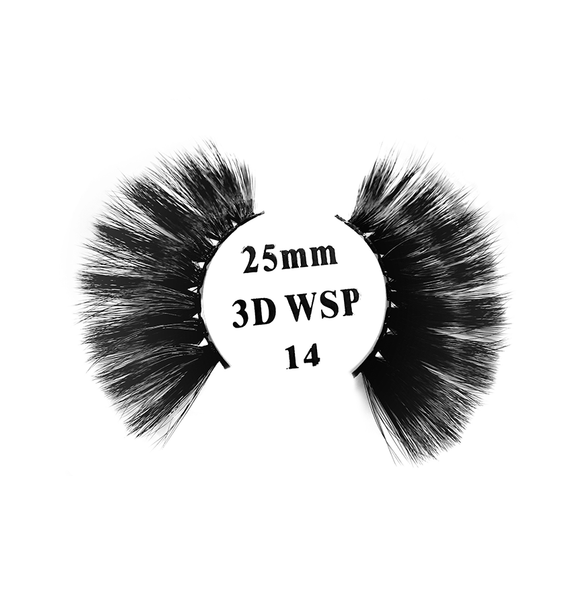 Retrotress 100% Hand Made 3D 25mm Wispy Lashes - 14