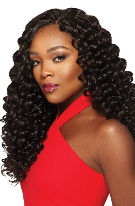 Outre X-Pression Crochet 4 In 1 Loop - Deep Twist 14 Inches