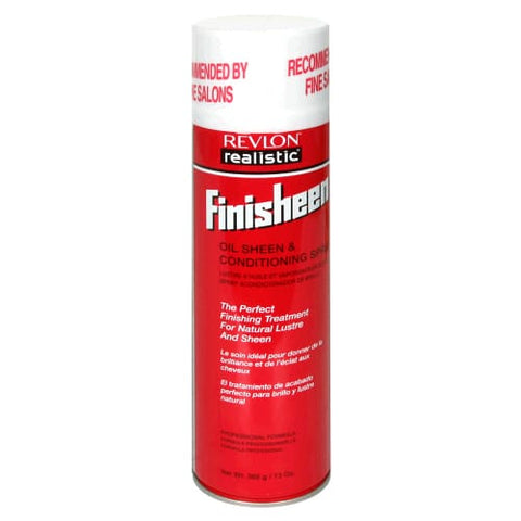 Revlon Realistic Finisheen Oil Sheen & Conditioning Spray (7 Oz.)