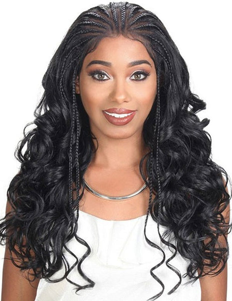 Zury Sis Diva Collection Lace Front Wig - Fulani 101