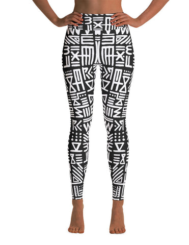 Alix Painted Rebel High Waste Yoga Pants