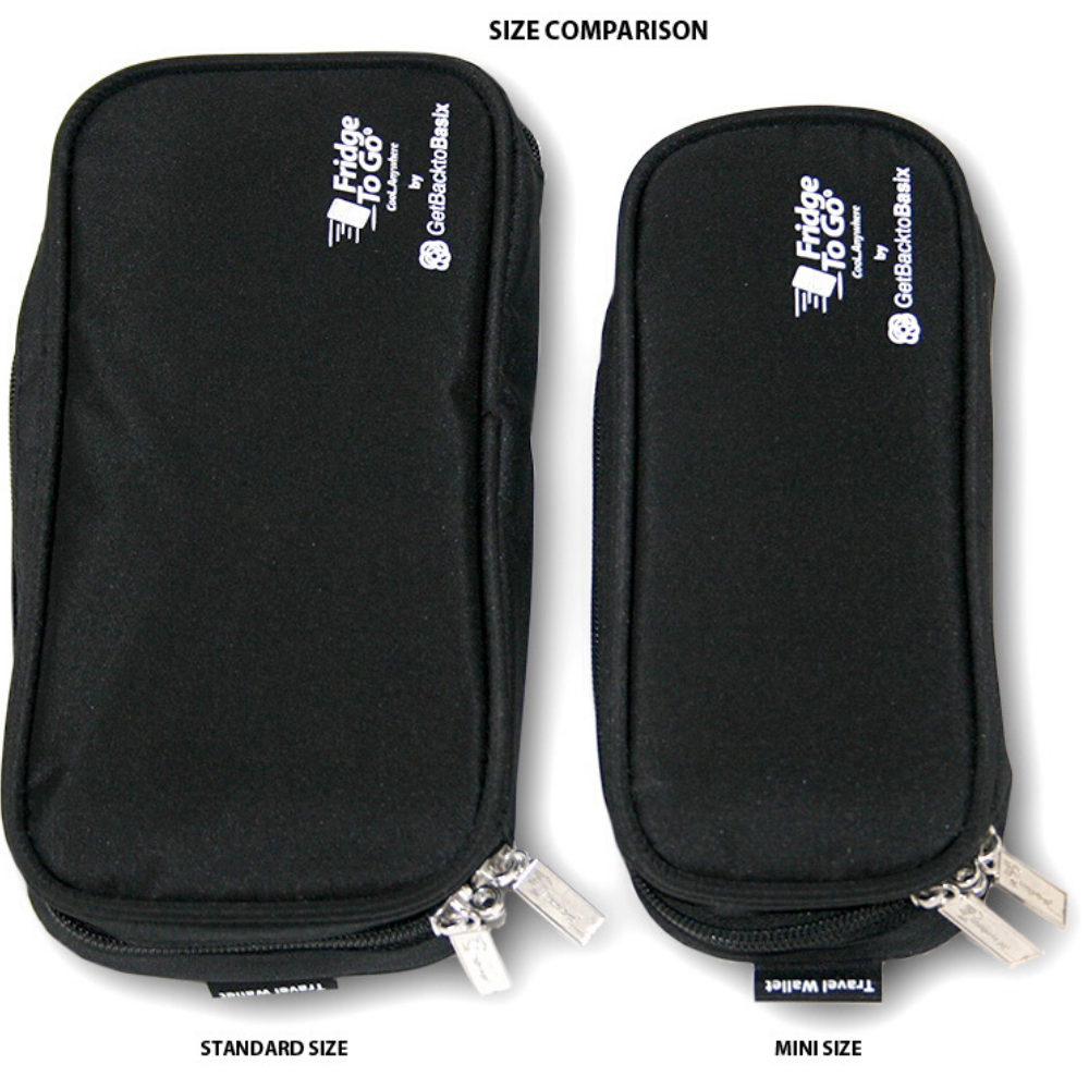 Insulin Cooler Medical Travel Wallet (Standard 2-Pen)