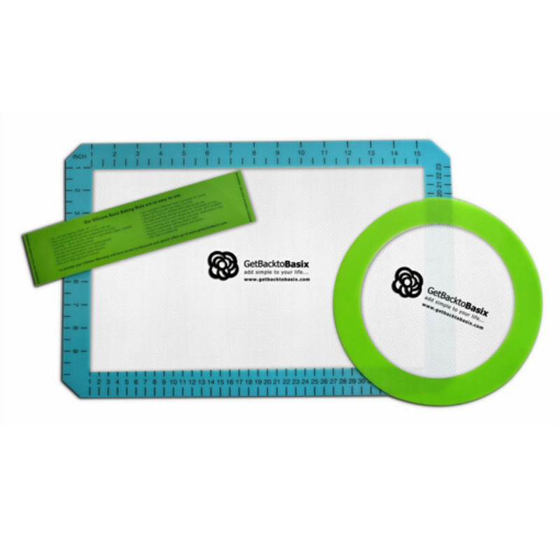 Silicone Baking Mat Set by GetBacktoBasix