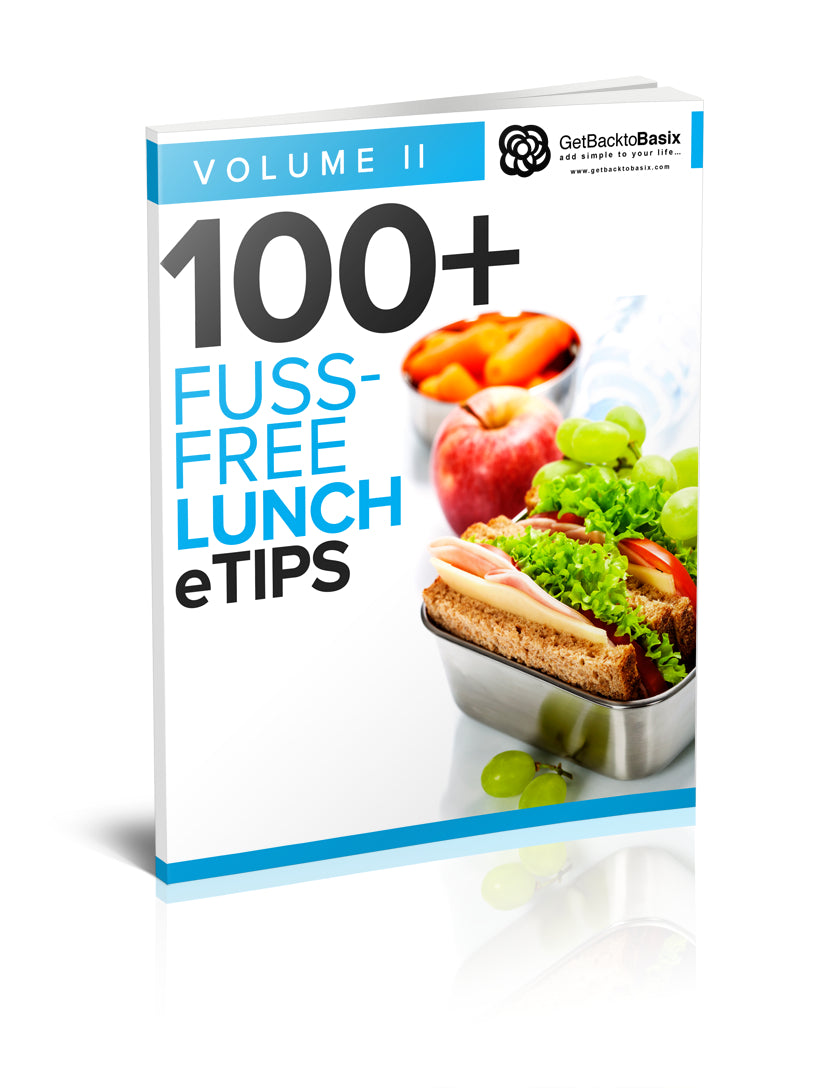 Volume II: 100+ Fuss-Free Lunch eTips [eBook]
