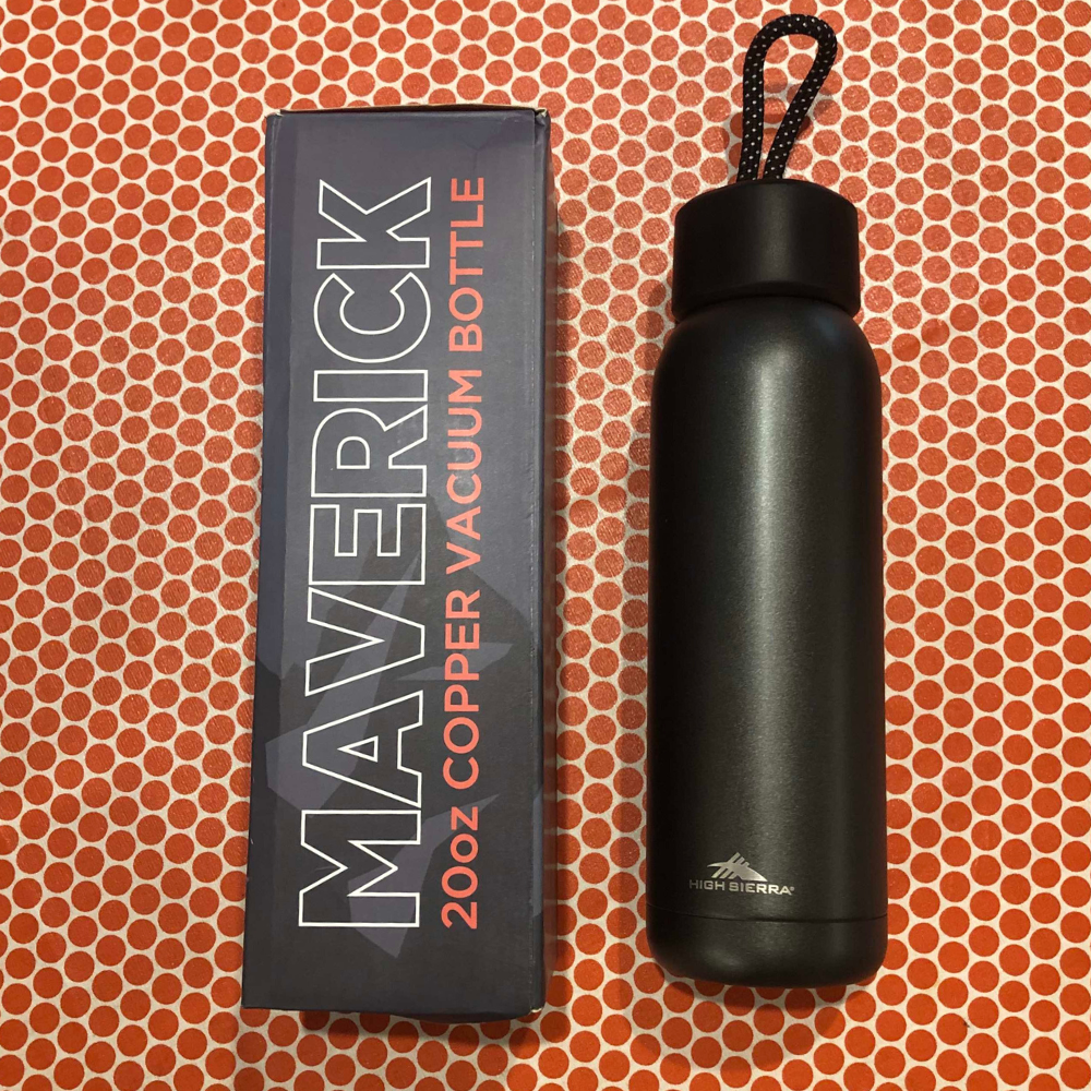 600ml High Sierra Maverick Copper Vacuum Bottle