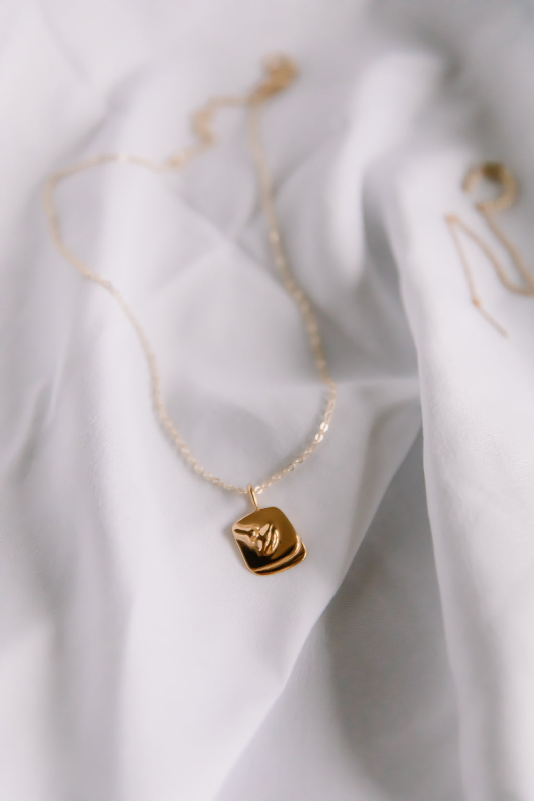 The bouche necklace //