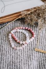 Load image into Gallery viewer, de Beauvoir gemstone bracelet stack //