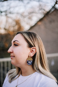 The lavande earrings //