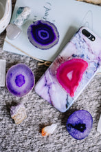 Load image into Gallery viewer, Agate phone grip //