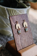 Load image into Gallery viewer, The sarcelle earrings //