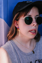 Load image into Gallery viewer, Pride arch earrings //