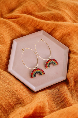The rainbow hoops //