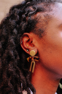 The mala dama earrings //