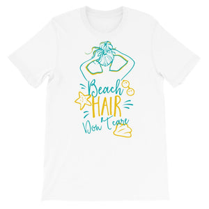 Dames shirt korte mouw *Beach hair* - Caps and Tees