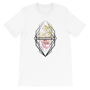 Dames shirt korte mouw *Colourful Flowers* - Caps and Tees