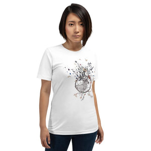 Dames shirt korte mouw *Dreamcatcher* - Caps and Tees