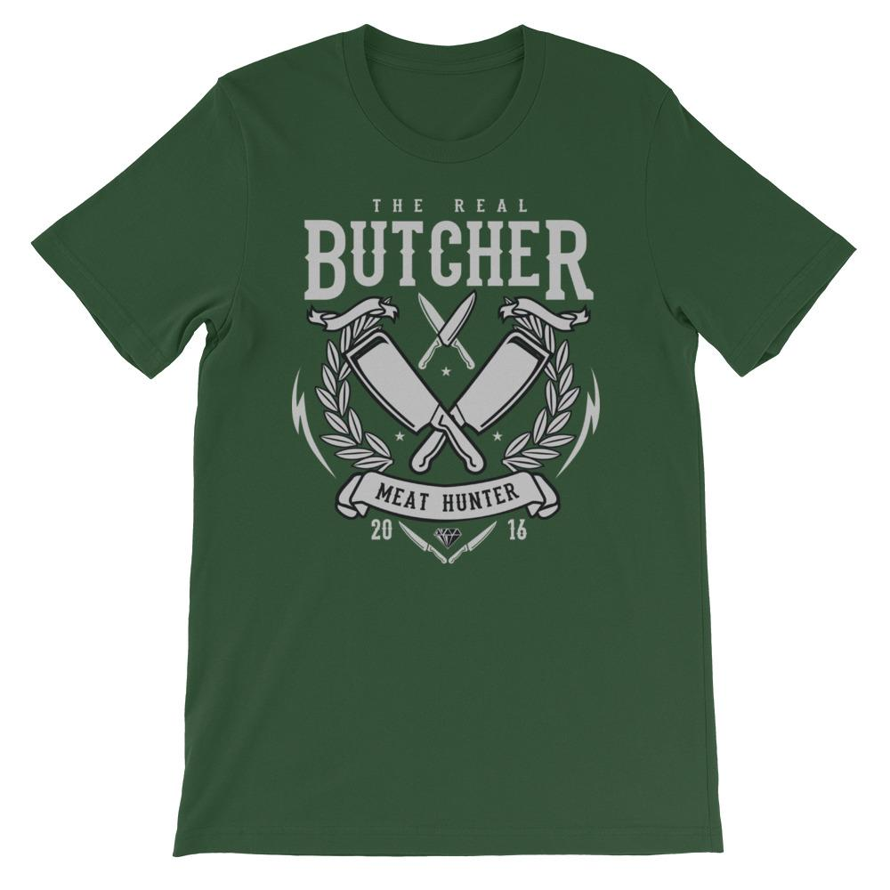 Heren shirt korte mouw *Butcher* - Caps and Tees