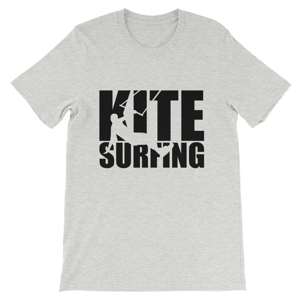 Heren shirt korte mouw *Kite Surfing* - Caps and Tees