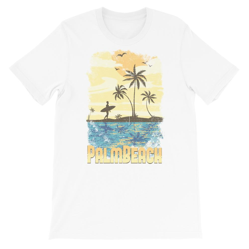 Heren shirt korte mouw *Palm beach* - Caps and Tees