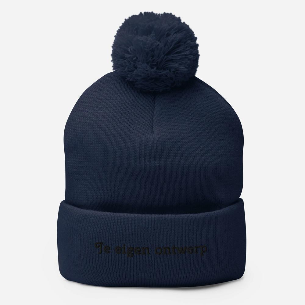 Pom-pom Beanie - Caps and Tees