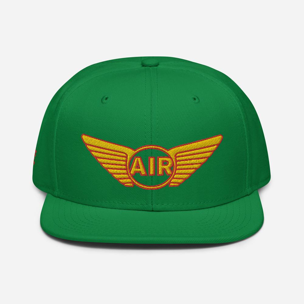 Premium Snapback cap *AIR* - Caps and Tees