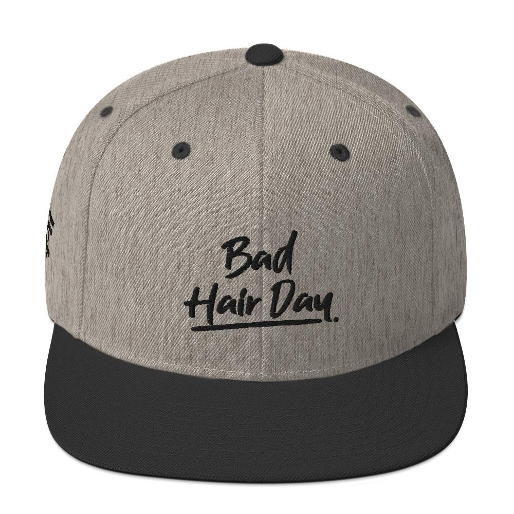 Snapback Cap *Bad hair day* - Caps and Tees