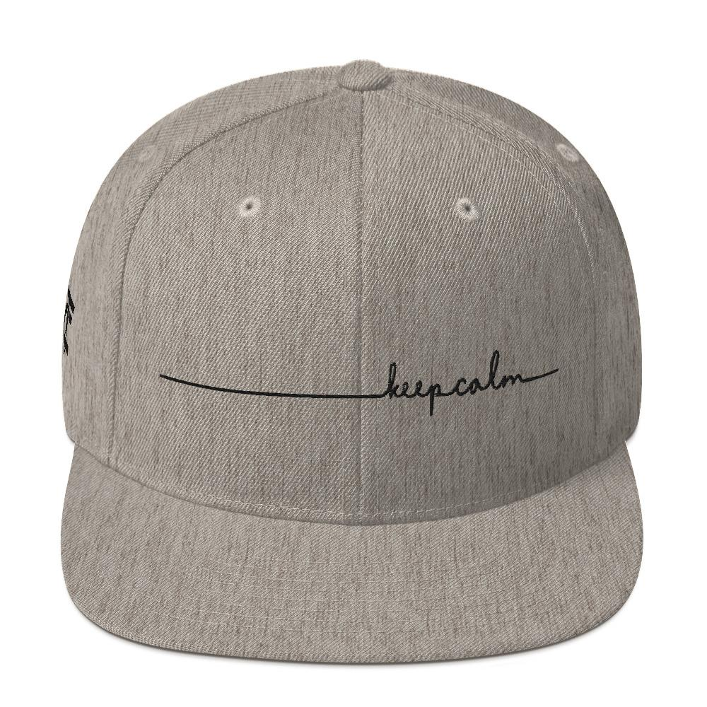Snapback Cap *Keep Calm* - Caps and Tees