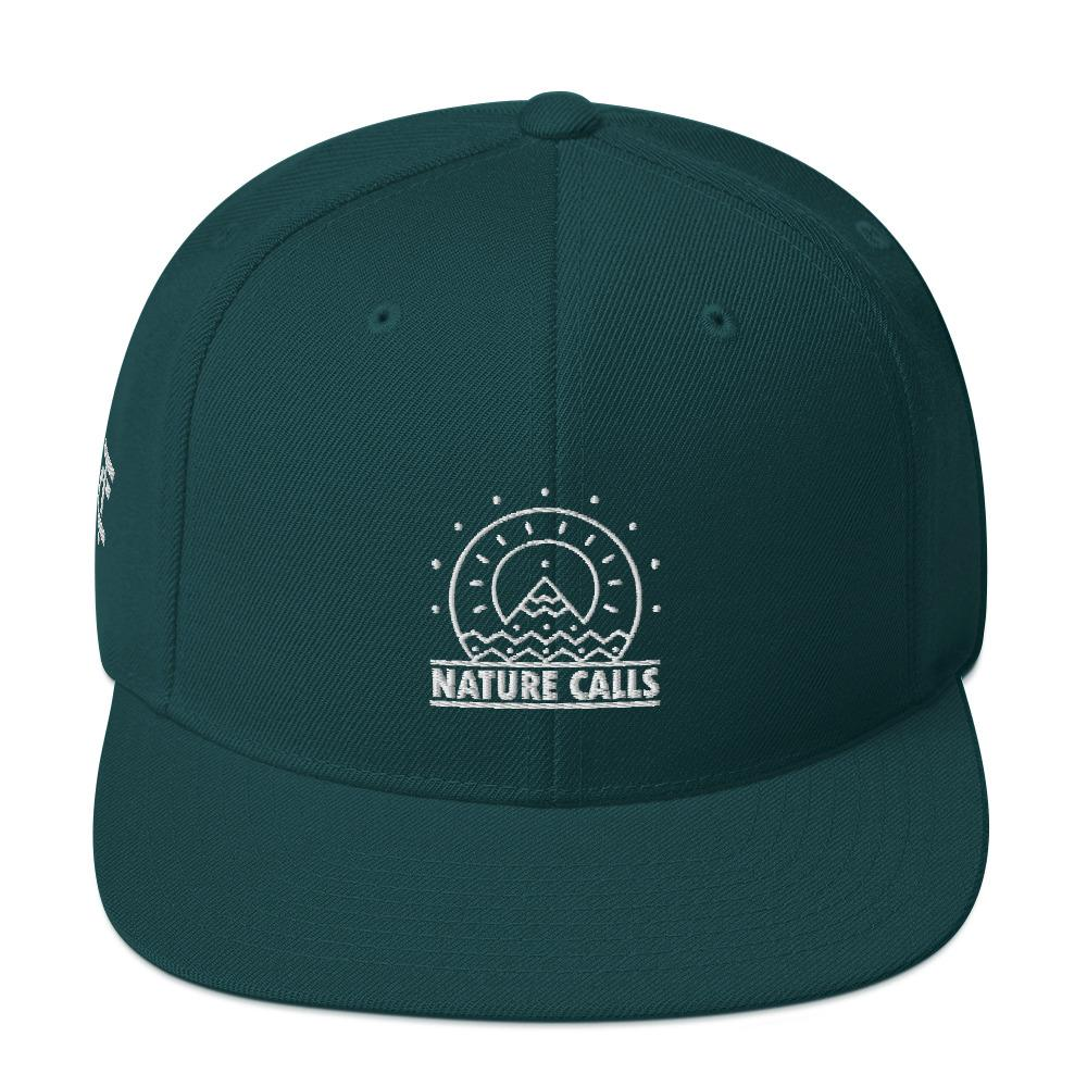 Snapback Cap *Nature Calls* - Caps and Tees