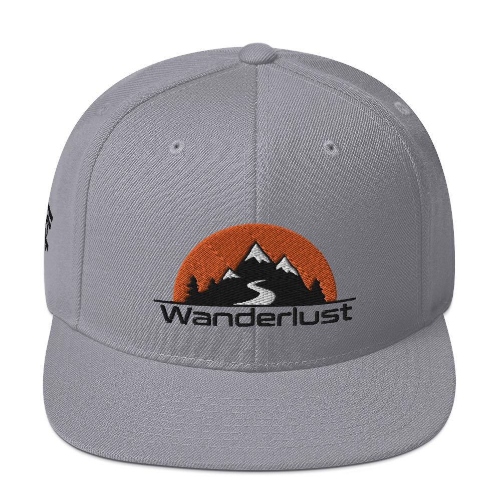 Snapback Cap *Wanderlust* - Caps and Tees