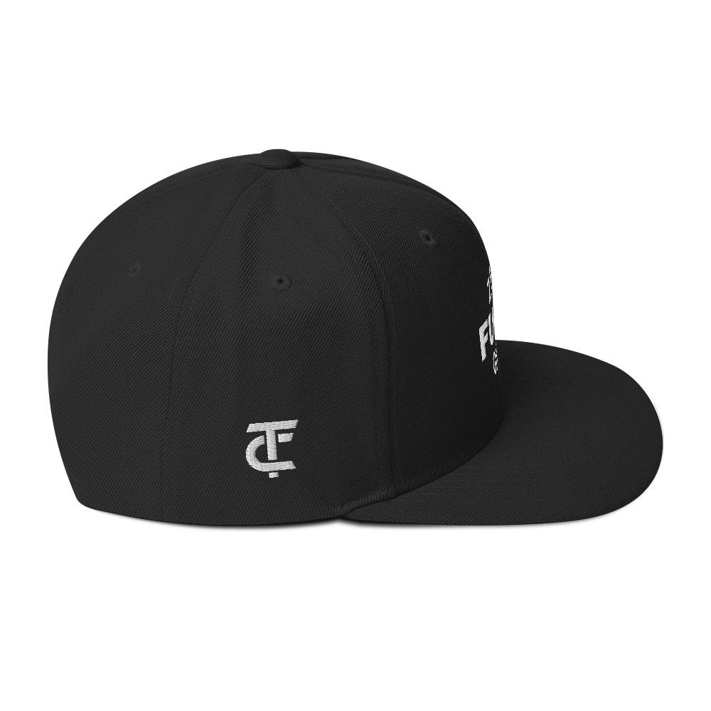 Snapback Cap *Zero F*cks given* - Caps and Tees