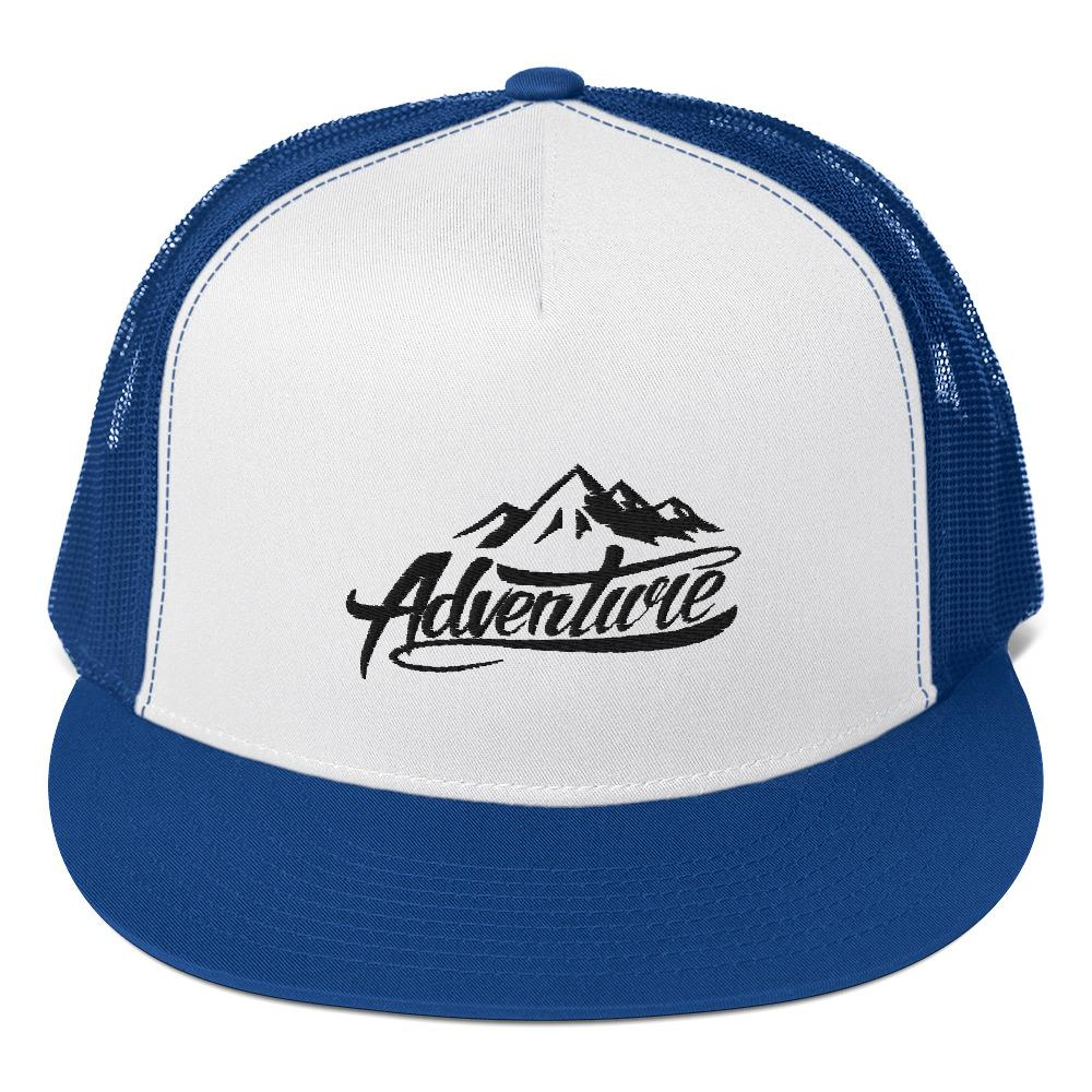 Snapback trucker cap *Adventure* - Caps and Tees
